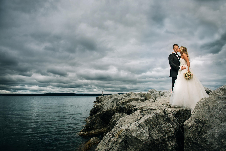 Detroit Michigan Wedding Photographer Charlevoix Country Club